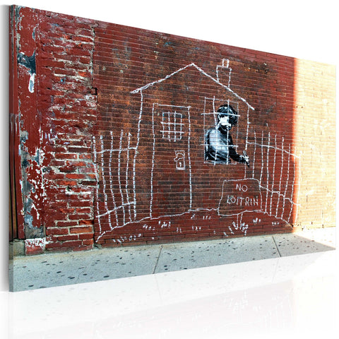 Canvas Print - Grounded (Banksy)