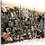 Canvas Print - The tallest buildings in New York City