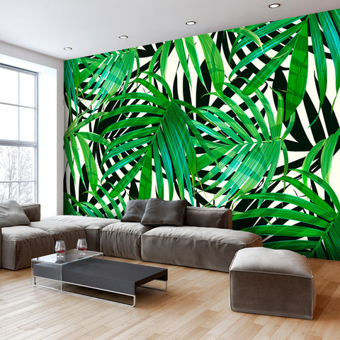 Wallpaper - Tropical Leaves