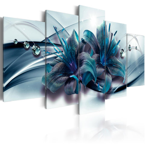 Canvas Print - Blue Lily