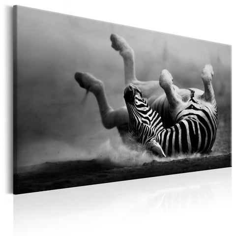 Canvas Print - Fun in the Dust