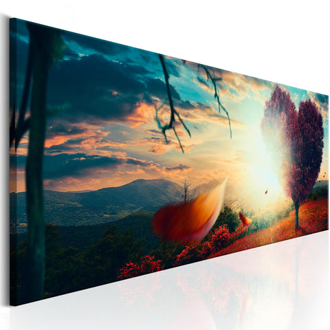 Canvas Print - Heart of Nature