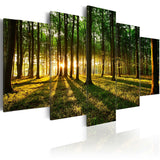Canvas Print - Adventure in the woods