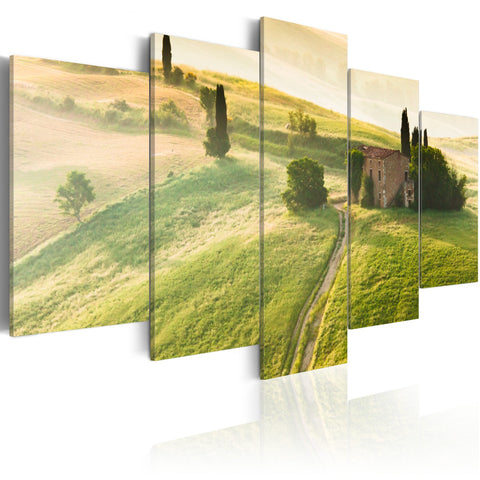 Canvas Print - Green Tuscany