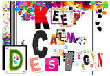 Wallpaper - Keep Calm and Design