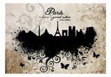 Wallpaper - Paris is always a good idea - vintage