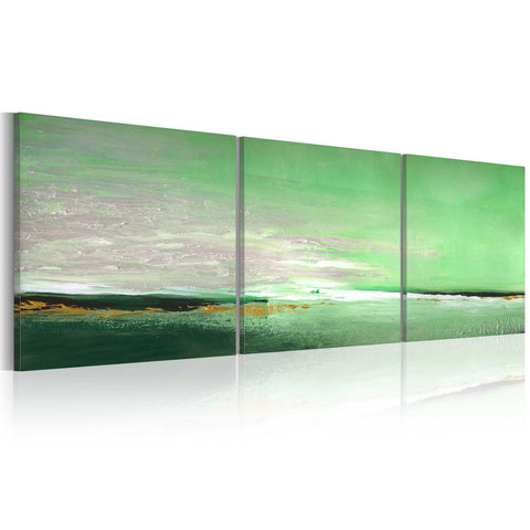 Handmade painting - Sea-green coast