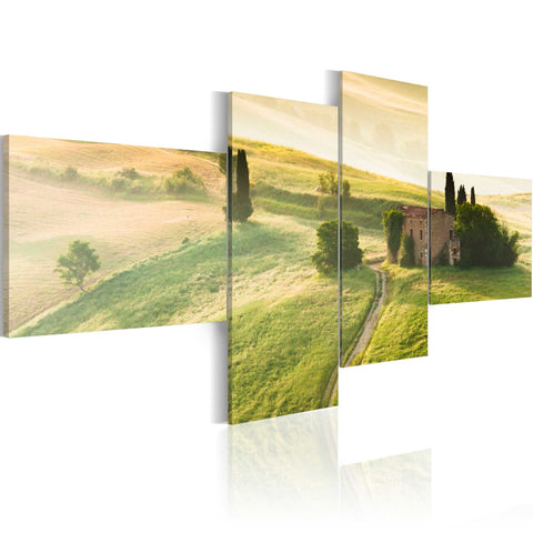 Canvas Print - The tranquillity of Tuscany