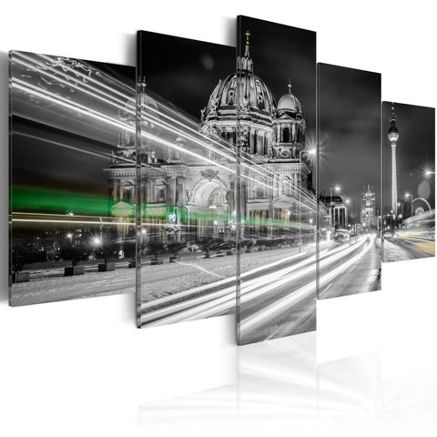 Canvas Print - Berlin at Night