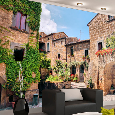 Wallpaper - Tuscan alley