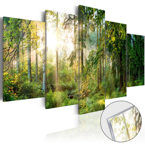 Acrylic Print - Green Sanctuary [Glass]