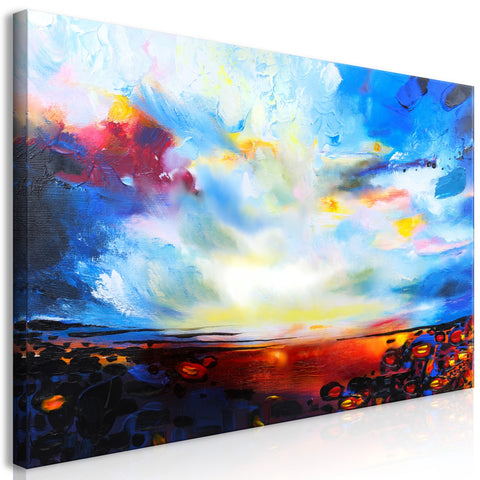 Canvas Print - Colourful Sky (1 Part) Wide