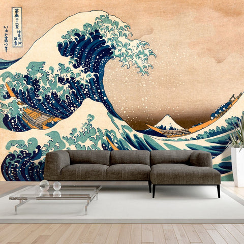 Wallpaper - Hokusai: The Great Wave off Kanagawa (Reproduction)