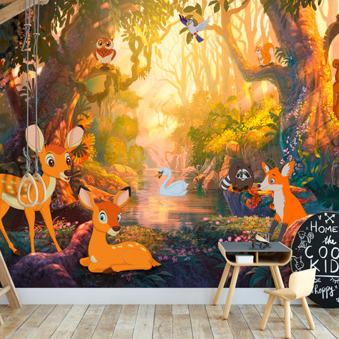 Wallpaper - Animals in the Forest