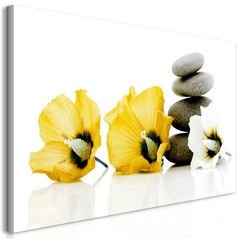 Canvas Print - Calm Mallow (1 Part) Yellow