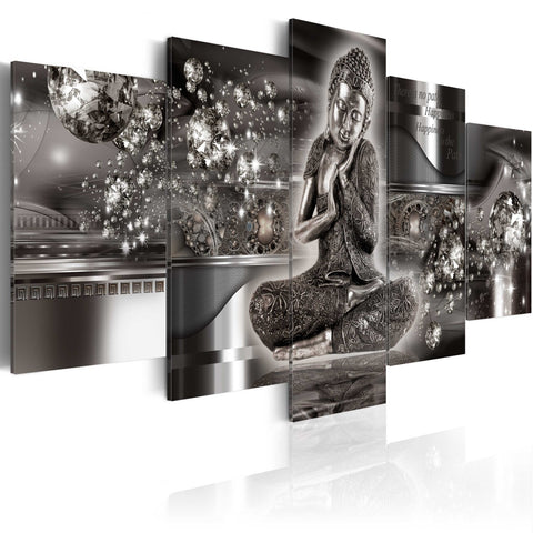 Canvas Print - Silver Serenity