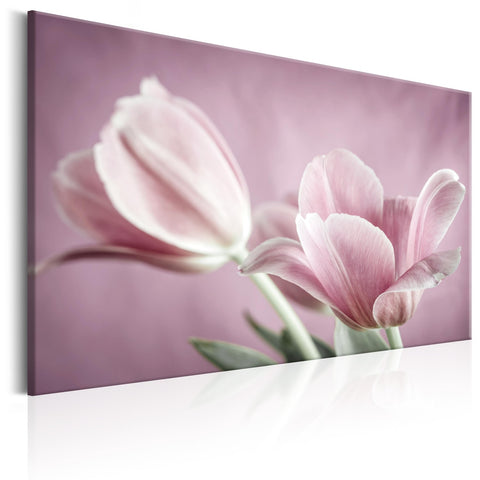 Canvas Print - Romantic Tulips