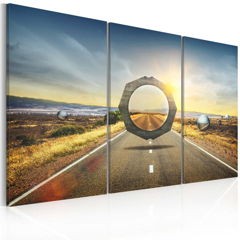 Canvas Print - Street mirage