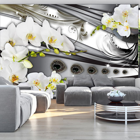 Wallpaper - Orchids & jewelry