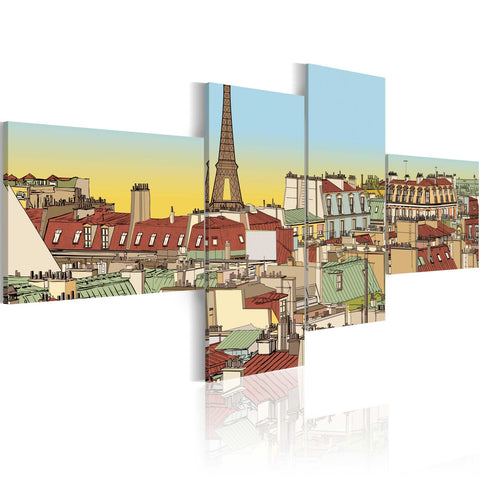 Canvas Print - Fabulous Paris