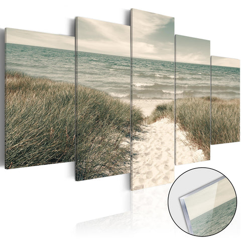 Acrylic Print - Quiet Beach [Glass]