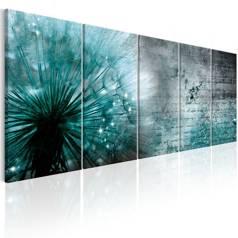 Canvas Print - Ice Dandelion