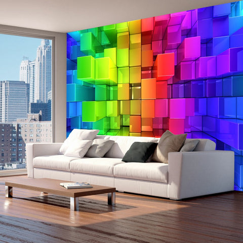 Wallpaper - Colour jigsaw