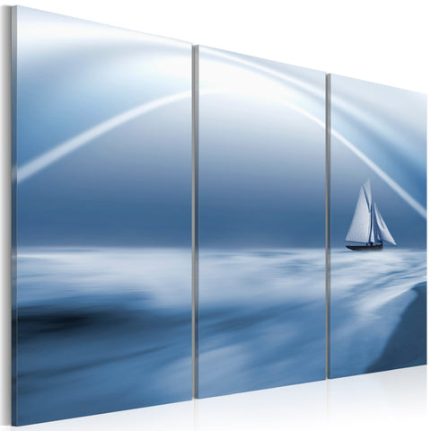 Canvas Print - Sailing among the clouds