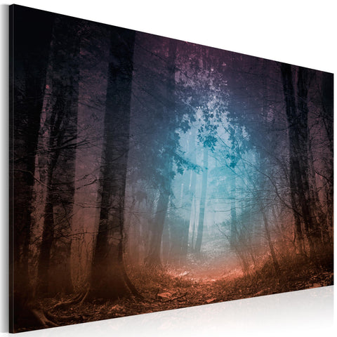Canvas Print - Edge of the forest