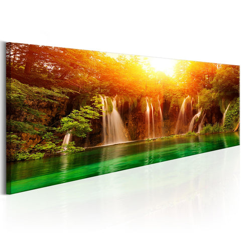Canvas Print - Nature: Magnificent Waterfall