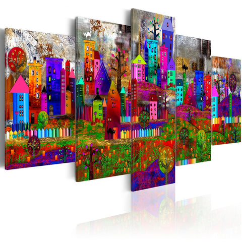 Canvas Print - The City of Expression