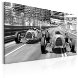 Canvas Print - Old Cars Racing