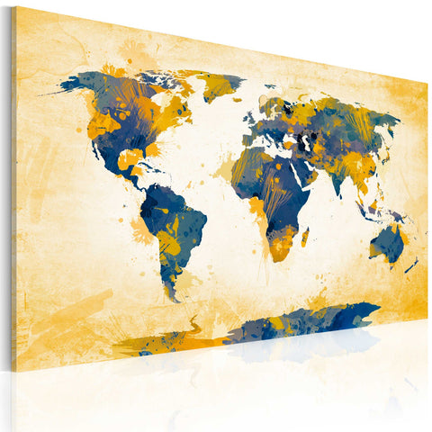 Canvas Print - Four corners of the World