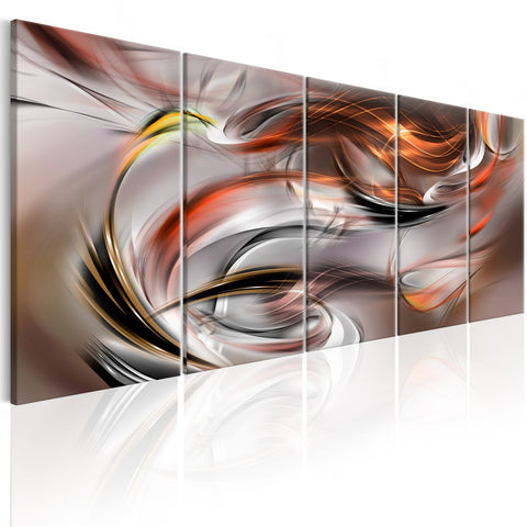 Canvas Print - Orange Chaos