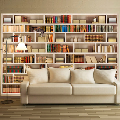 Wallpaper - Home library