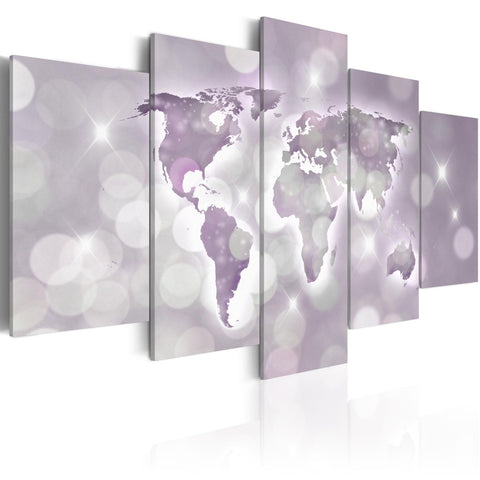 Canvas Print - Amethyst World