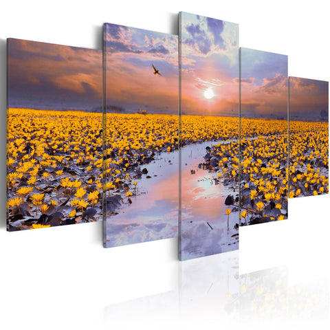 Canvas Print - The River of Light