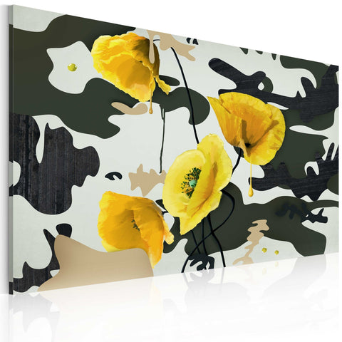 Canvas Print - Painted by poppies
