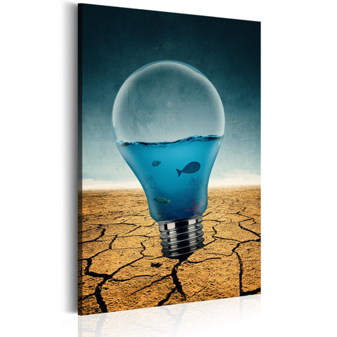 Canvas Print - Aquarium of Ideas