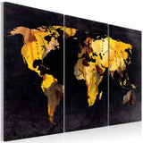 Canvas Print - If the World were a desert... - triptych