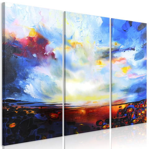 Canvas Print - Colourful Sky (3 Parts)