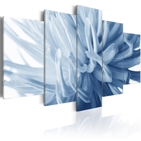 Canvas Print - Blue dahlia