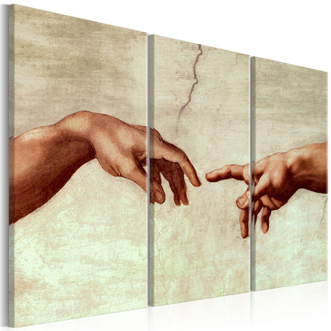 Canvas Print - Touch of God