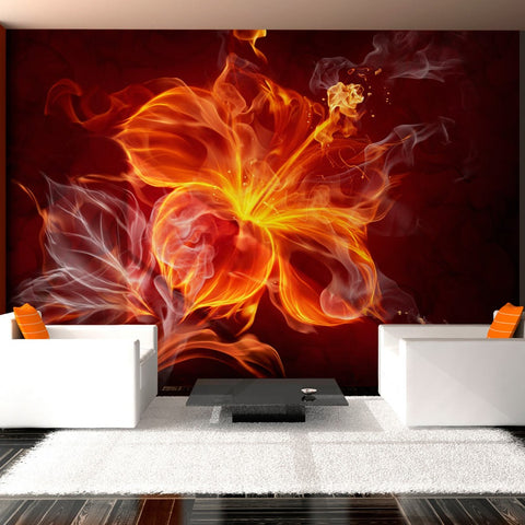 Wallpaper - Fiery flower