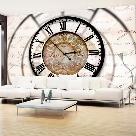 Wallpaper - Clock movement