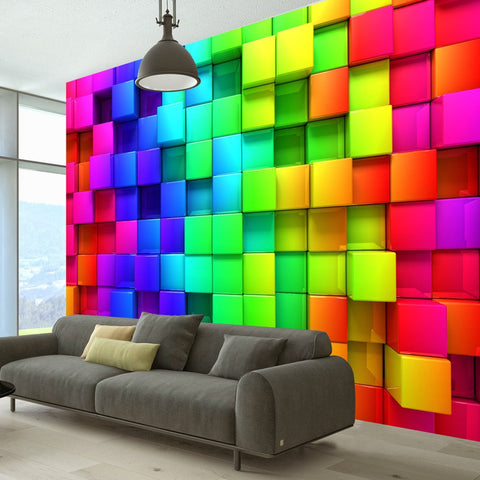 Wallpaper - Colourful Cubes