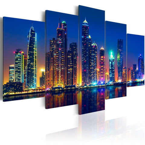 Canvas Print - Nights in Dubai