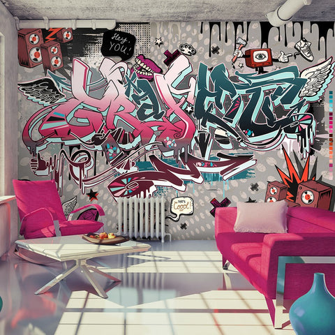 Wallpaper - Graffiti: hey You!