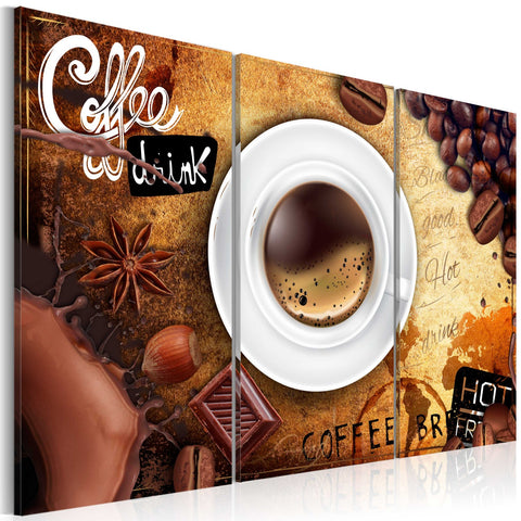 Canvas Print - Cup of coffee