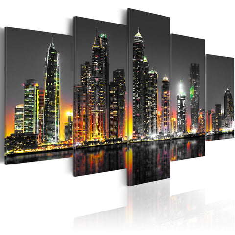 Canvas Print - Desertic City